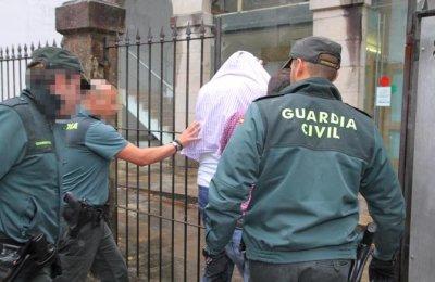 PASO A DISPOSICION JUDICIAL ACUSADOS INTENTO RAPTO Y AGRESION SE