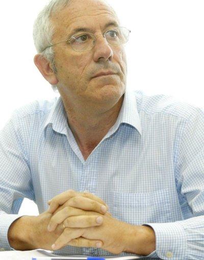 Luis Sabariz de ACP durante el Pleno de investidura.