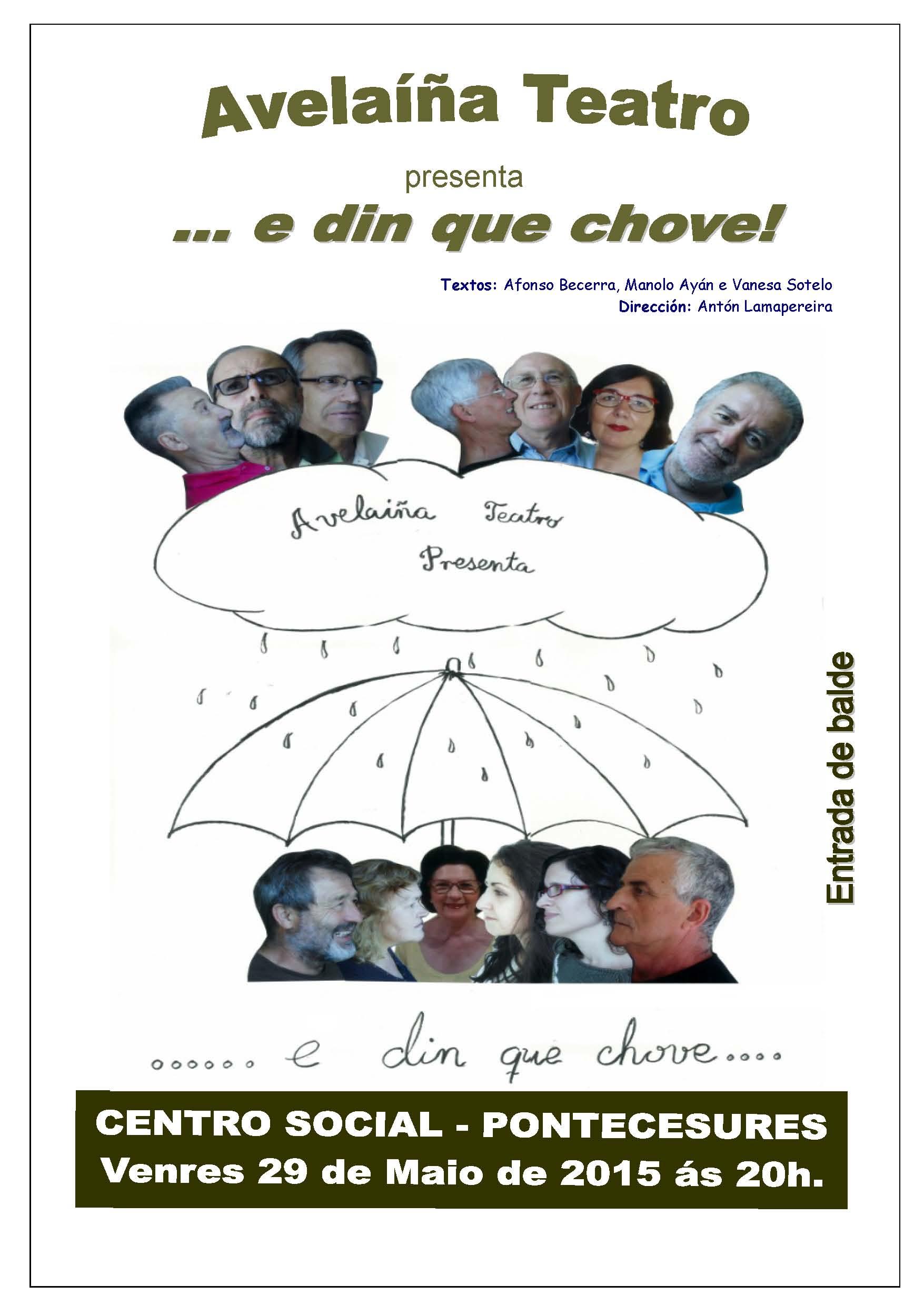 Cartel TEATRO 29-05-2015