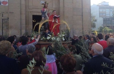 domingo de ramos pontecesures /